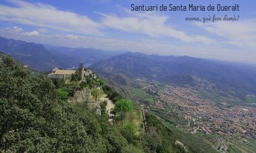 De paseo por el Santuari de Santa Maria de Queralt