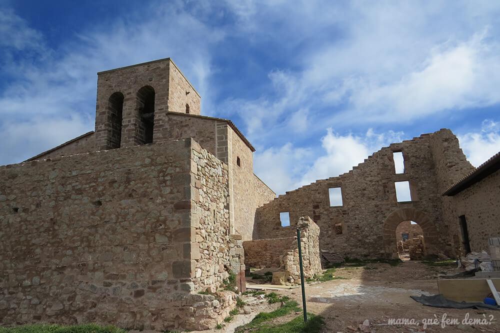 iglesia de Santa María de Tagamanent