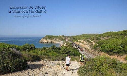 Excursión de Sitges a Vilanova i la Geltrú por la costa