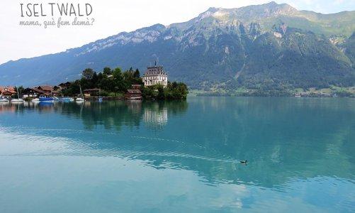 Iseltwald, tranquilidad absoluta en el lago Brienz (Suiza)