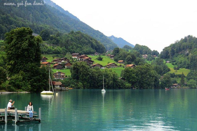 Embarcadero de Iseltwald, Suiza