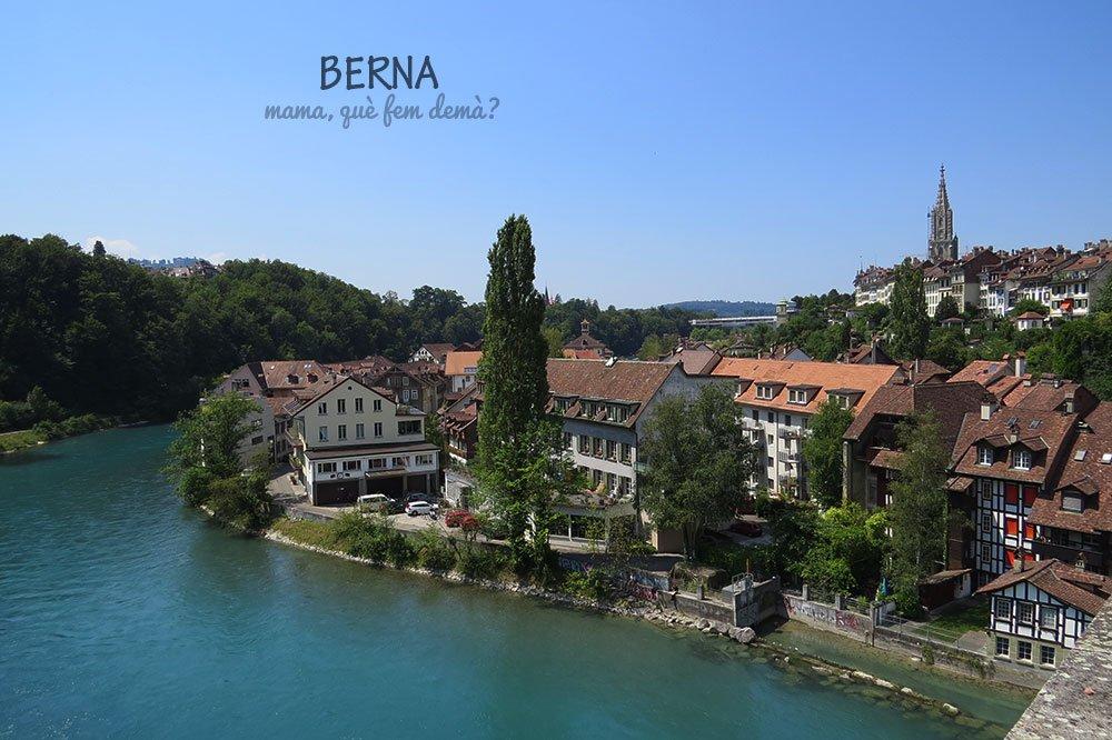 Panorámica de Berna desde el puente