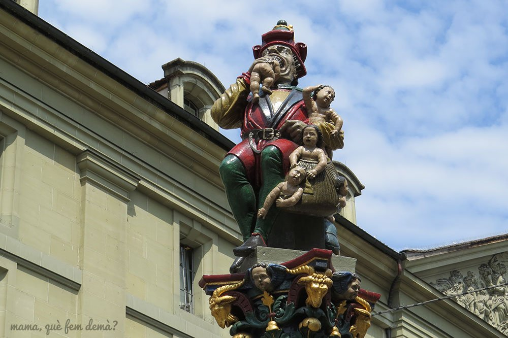 Kindlifresserbrunnen, fuente come niños de Berna