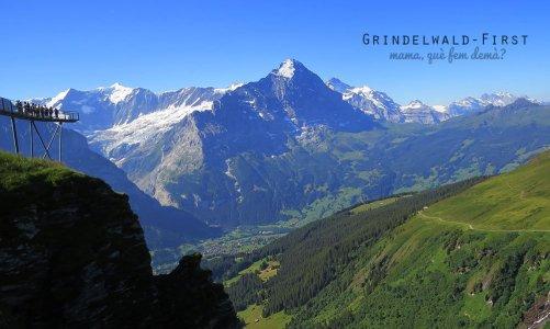Grindelwald-First, aventura alpina en Suiza