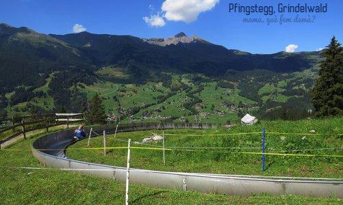 Pfingstegg, pista de trineos de verano en Grindelwald (Suiza)