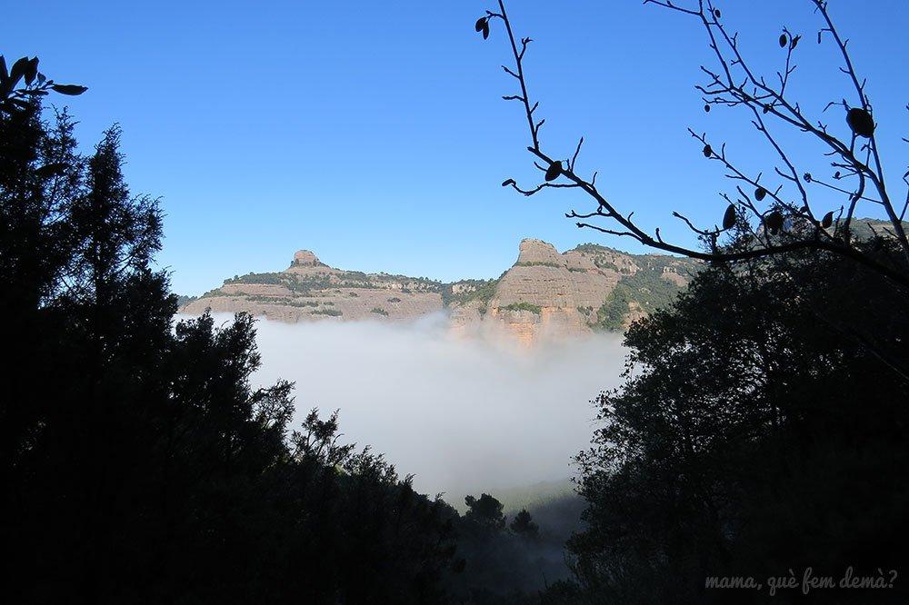 Vistas del Paller de Tot l'Any desde la excursión a la Font de la Portella