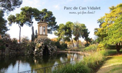 Los jardines históricos del Parc de Can Vidalet, Esplugues de Llobregat