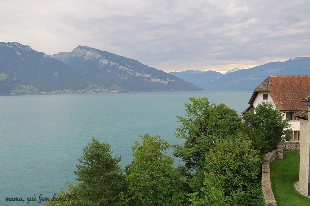 Lago de Thun desde Spiez