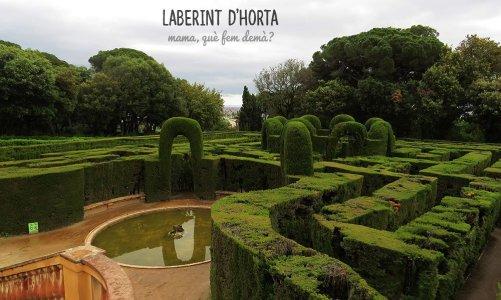 El laberint d'Horta, un lugar donde perderse