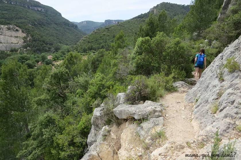 excursión cascada de la vall de montblanc