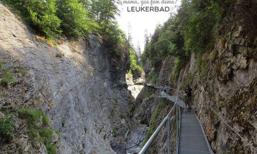 Las aguas termales de Leukerbad