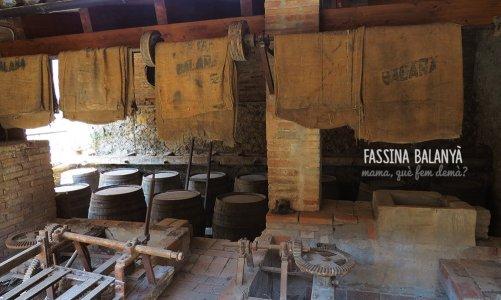 Fassina Balanyà, museo de la antigua fábrica de aguardiente