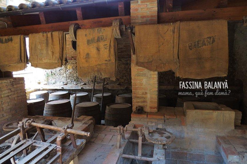 Interior de la Fassina Balanyà