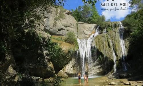 Excursión con niños al Salt del Molí en Vidrà, Osona