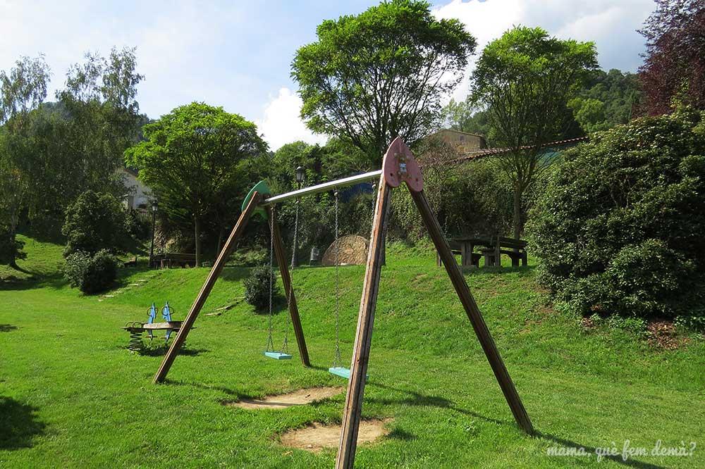 parque infantil en Vidrà