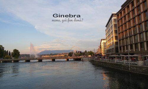Un paseo por el centro de Ginebra sin gastar ni un franco