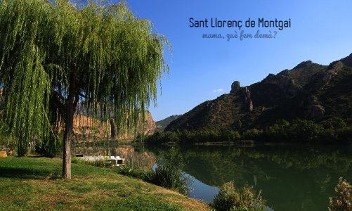 El embalse de Sant Llorenç de Montgai