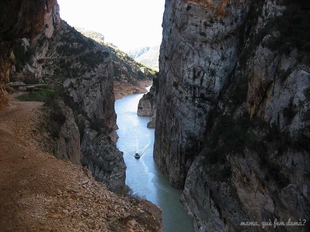 Excursión al congost de mont-rebei