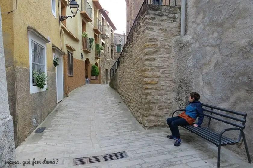 calle estrecha de Àger
