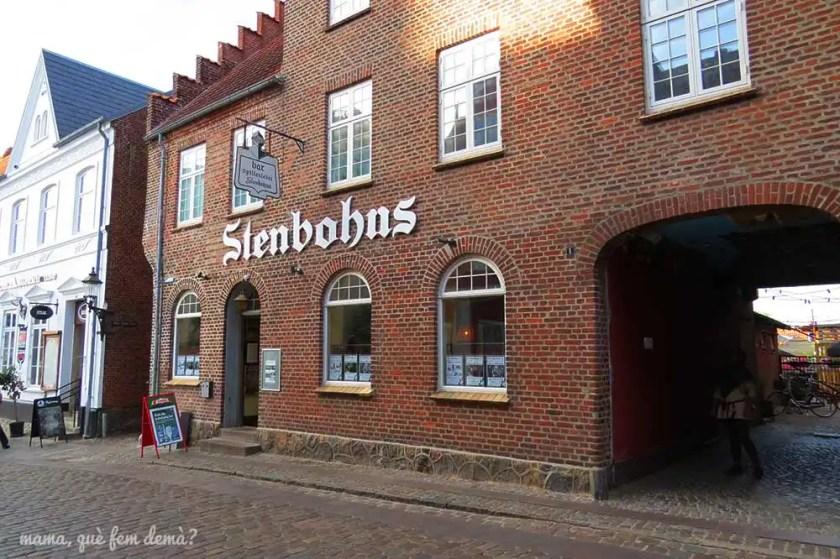 Exterior del bar Stenbohus