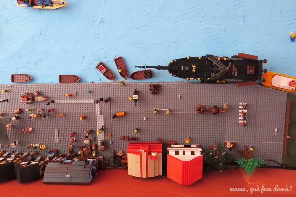 Techo con legos del bar Stenbohus