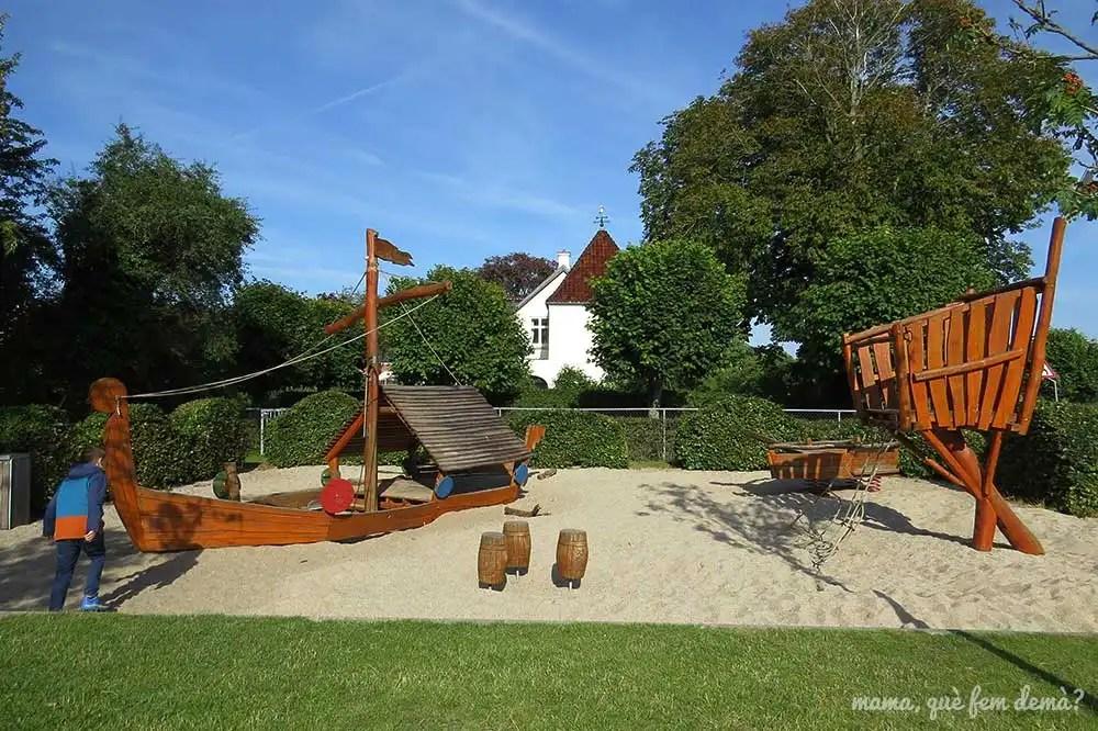 parque infantil Klosterhaven con un niño