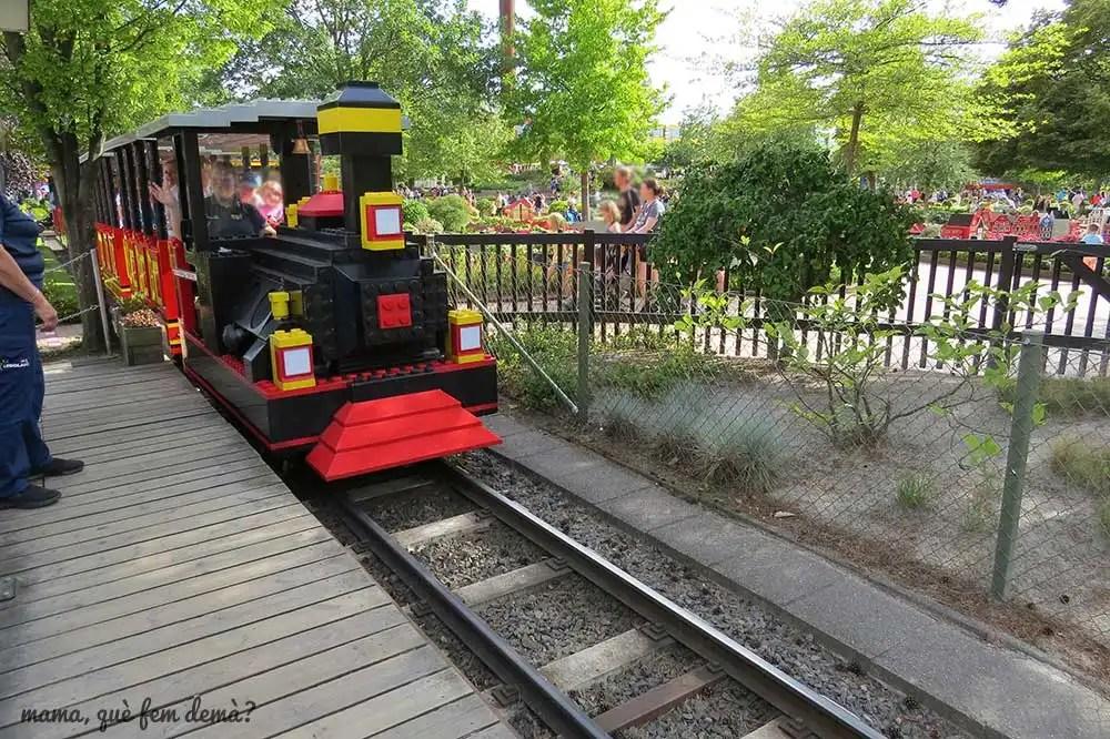 Tren de Legoland Billund