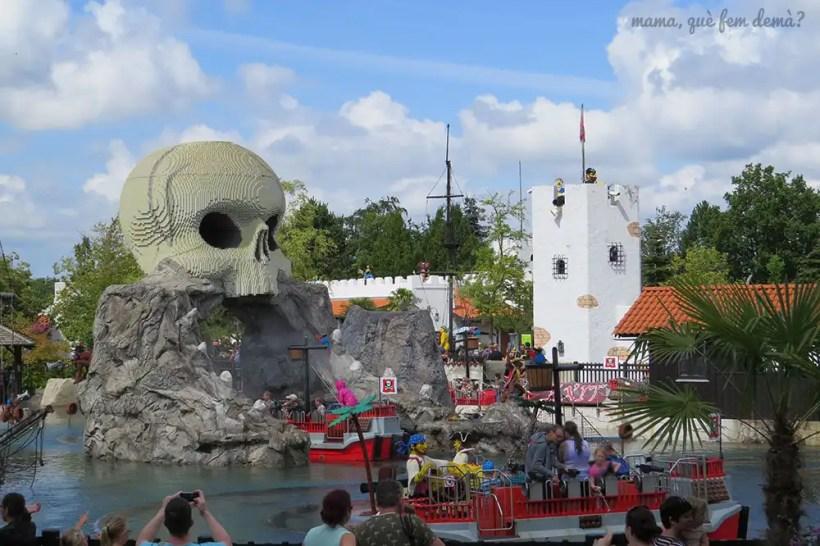 Barcos piratas de Legoland Billund