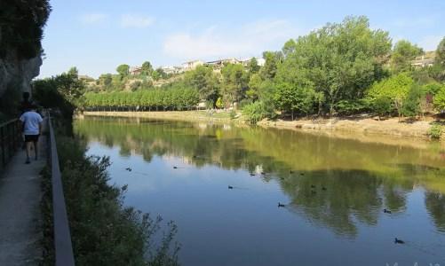 Paseo y vermut en el Parc del Llac de Navarcles