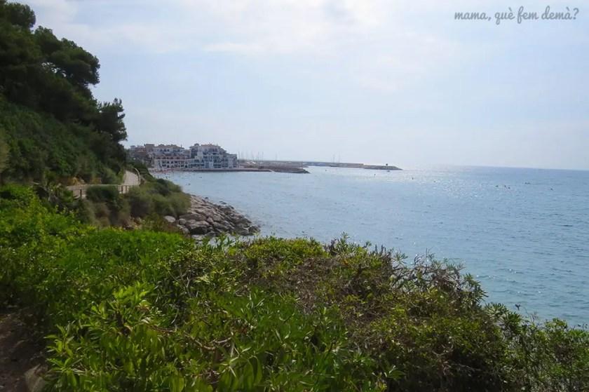 Roc de Sant Gaietà desde el camino de ronda