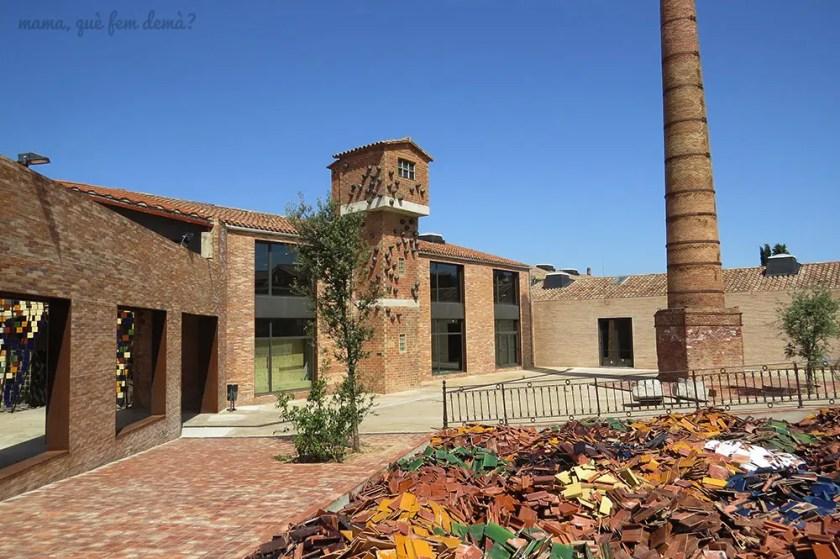 Exterior del Terracotta Museu de Cerámica de la Bisbal de l'Empordà