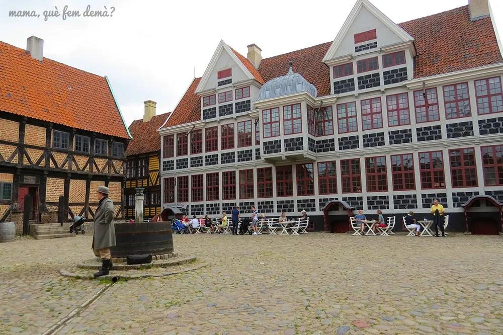 mansión de 1683 en Den Gamle By