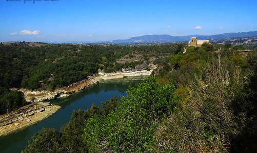 Excursión con niños: del Parador de Sau al Monestir de Sant Pere de Casserres