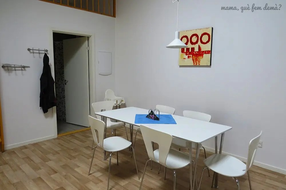 Comedor de los apartamentos Fitting Landsbyferie en Vorbasse