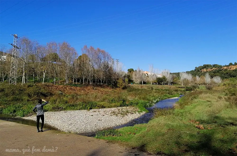 puente al lado de la font dels gitanos de sabadell