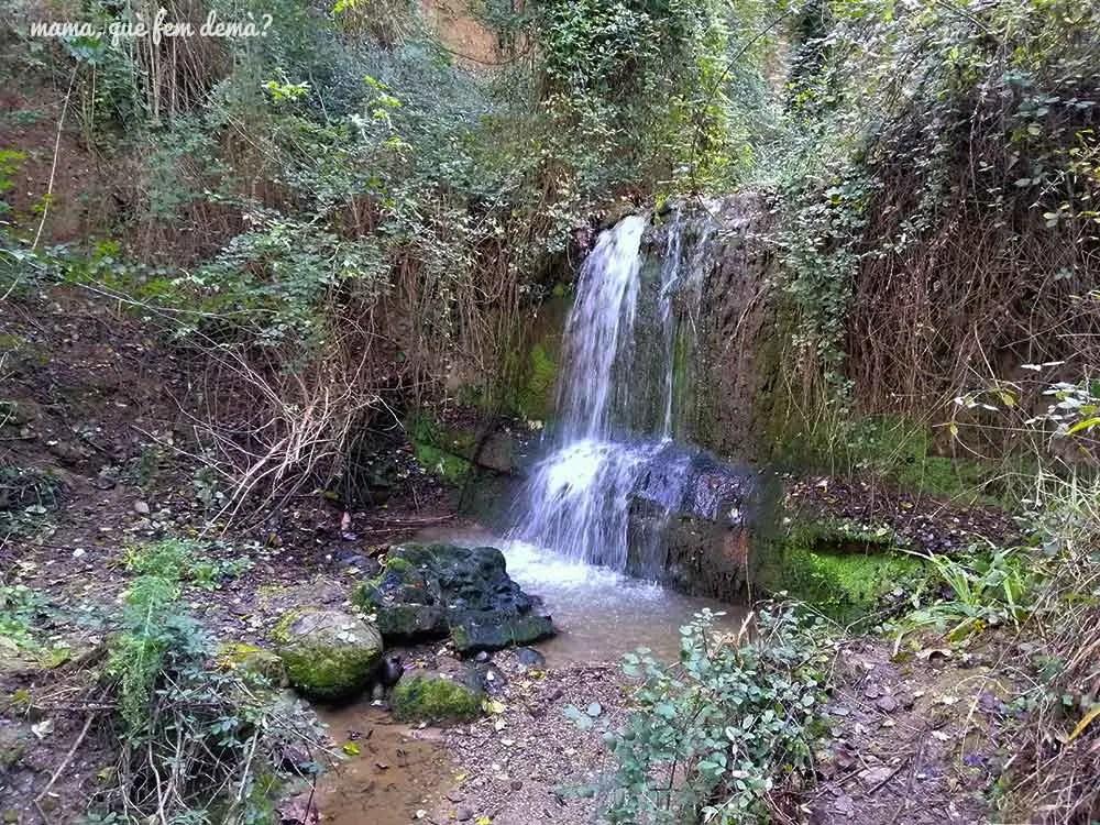 Cascada del Torrent de Ribatallada