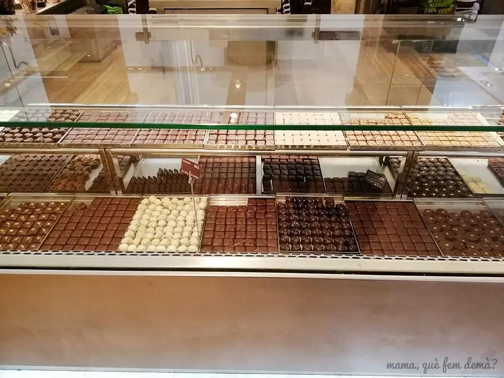 Bombones del Museu de la Xocolata de Barcelona
