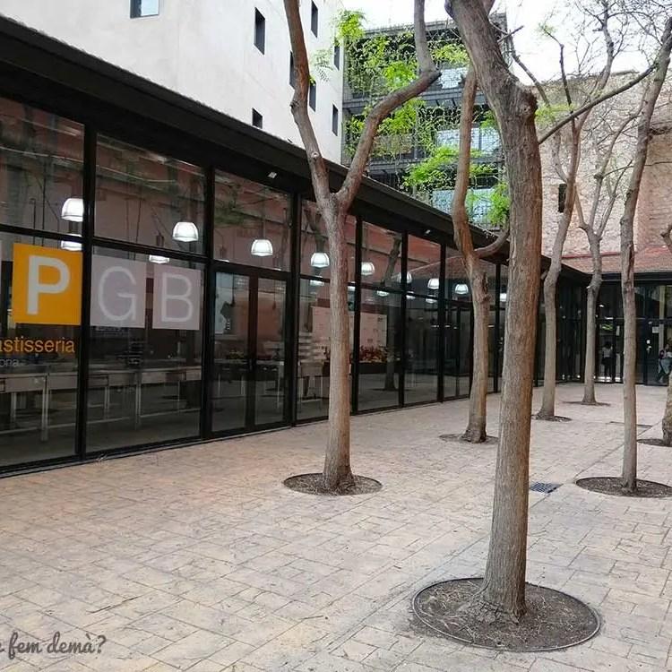 Exterior de la Escola de Pastisseria del Museu de la Xocolata de Barcelona