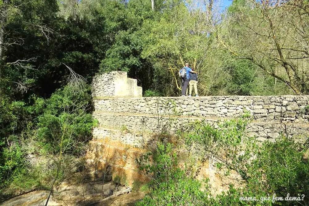 Presa de Dosrius en Torrelles del Foix