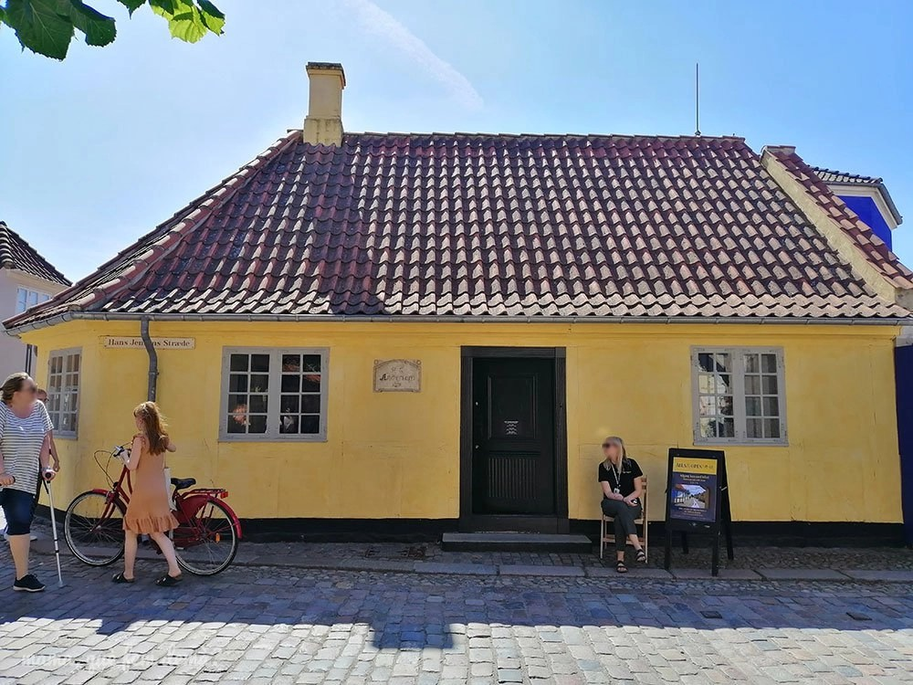 Hans Christian Andersen's Birthplace en Odense, Dinamarca