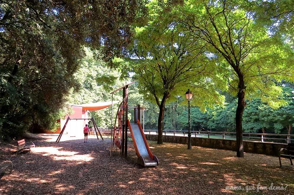 Parque infantil del Parc del Reguissol de Santa Maria de Palautordera