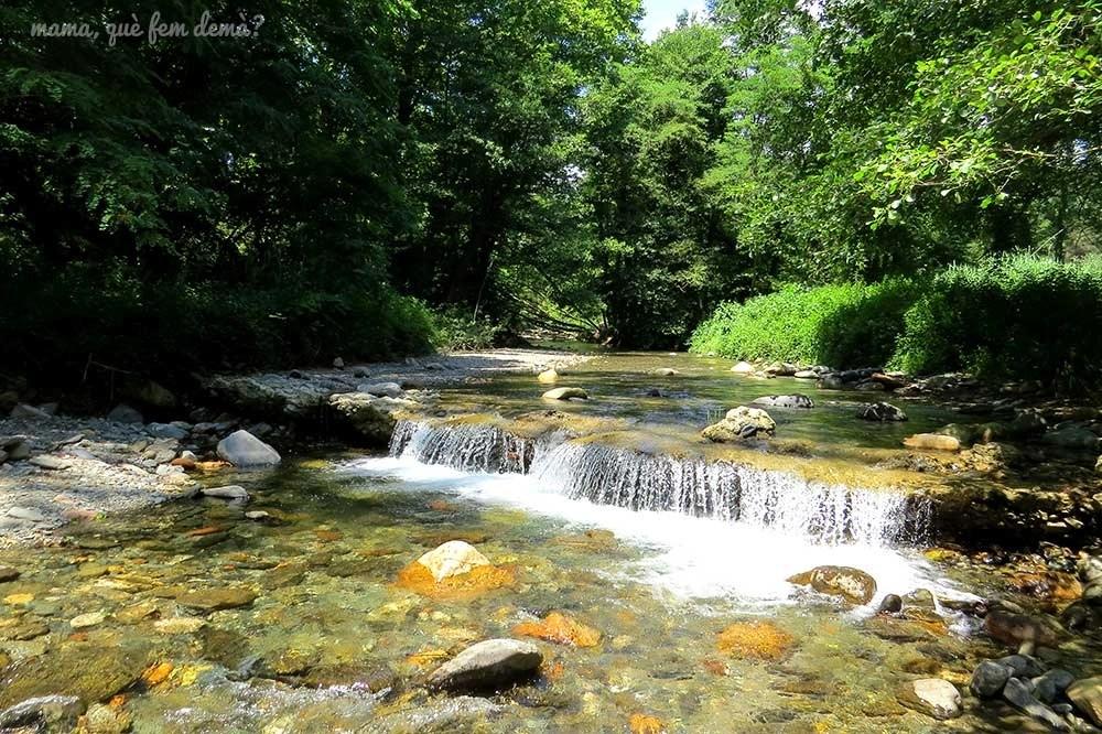 Río Tordera a su paso por Santa Maria de Palautordera