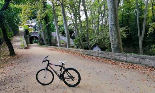 Ruta del Carrilet con niños: en bicicleta por la Garrotxa