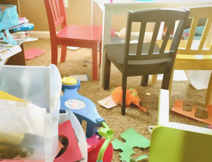 Messy Playroom picture as feature image