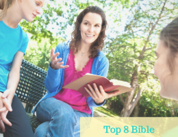 Bible studies for moms feature image