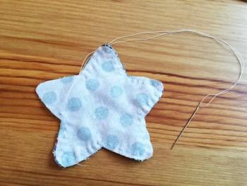 Como coser estrella