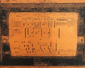 "Joan Lengel, Player Piano Roll, Digital, 16""X20"", $400"