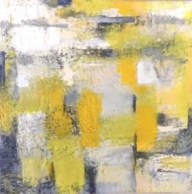 "Mitchell Visoky, A Day of Wonder, Encautsic on panel, 12""x12"", $450"