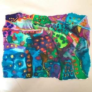 "Diane Cherr, Carlsbad, Watercolor on Paper, unframed, 6""x8"", $150"