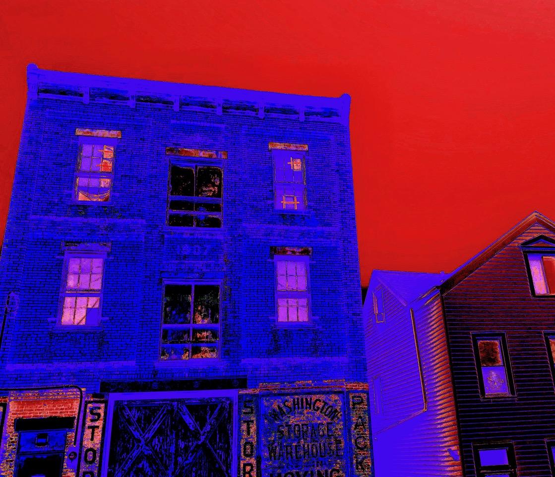 """Steven Levine, 2 Buildings, Photograph, 12""""x16"""", $475"""